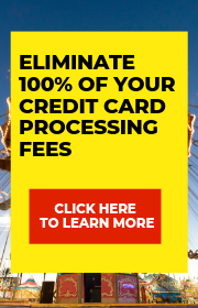 Eliminate Credit Card processing fees through Total Pament Solutions!  Call 919-608-1195 to learn more!