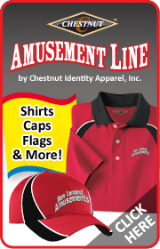 Call Chestnut Identity Apparel for all your amusement industry LED lighting and apparel needs.  Visit www.amusementline.com for more info.