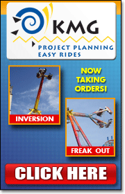 KMG is a leading builder of spectacular amusement rides such as the Freak Out, Fire Ball (Afterburner), Speed, Inversion (Nemesis 360), and many more.